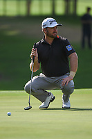 Graeme McDowell (NIR) looks over his putt on 5 during round 2 of the 2019 Charles Schwab Challenge, Colonial Country Club, Ft. Worth, Texas,  USA. 5/24/2019.<br /> Picture: Golffile   Ken Murray<br /> <br /> All photo usage must carry mandatory copyright credit (© Golffile   Ken Murray)