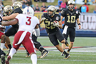 Annapolis, MD - December 27, 2016: Wake Forest Demon Deacons running back Matt Colburn (22) runs the ball during game between Temple and Wake Forest at  Navy-Marine Corps Memorial Stadium in Annapolis, MD.   (Photo by Elliott Brown/Media Images International)