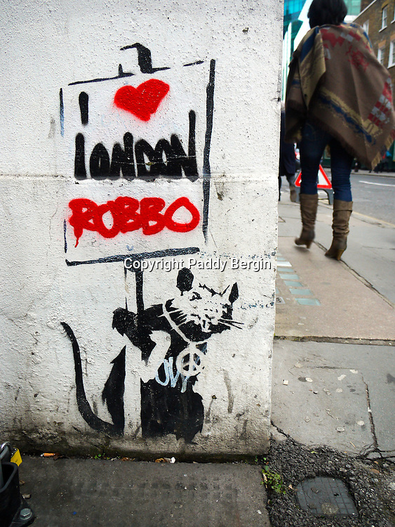 King Robbo (born John Robertson, 23 October 1969 – 31 July 2014) was an English underground graffiti artist. His feud with the artist Banksy was the subject of a Channel 4 television documentary called Graffiti Wars, first shown in August 2011.<br />