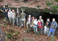 Outdoor Club Camping/Caving 11-15-08