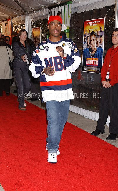 WWW.ACEPIXS.COM . . . . . ....NEW YORK, MAY 24, 2005....Tracy Morgan at The Longest Yard screening held at Clearview's Chelsea West Cinemas.....Please byline: KRISTIN CALLAHAN - ACE PICTURES.. . . . . . ..Ace Pictures, Inc:  ..Craig Ashby (212) 243-8787..e-mail: picturedesk@acepixs.com..web: http://www.acepixs.com