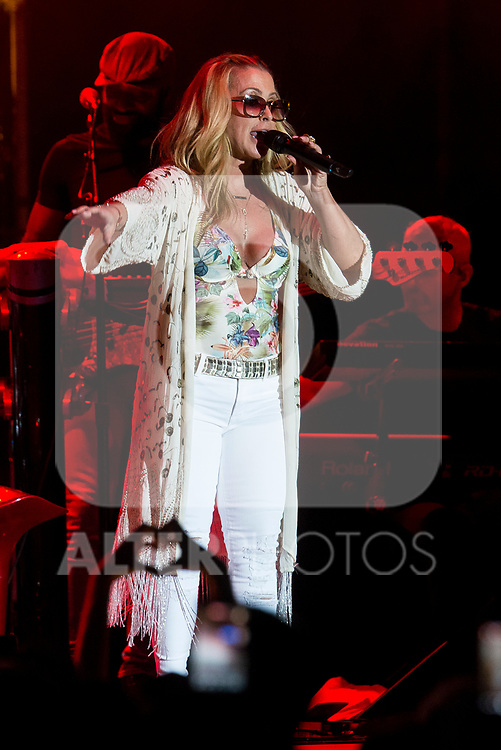American singer Anastacia during concert of the summer festival 'Botanical's Nights' (Noches del Botanico) at Real Jardin Botanico Alfonso XIII in Madrid, July 05, 2017. Spain.<br /> (ALTERPHOTOS/BorjaB.Hojas)