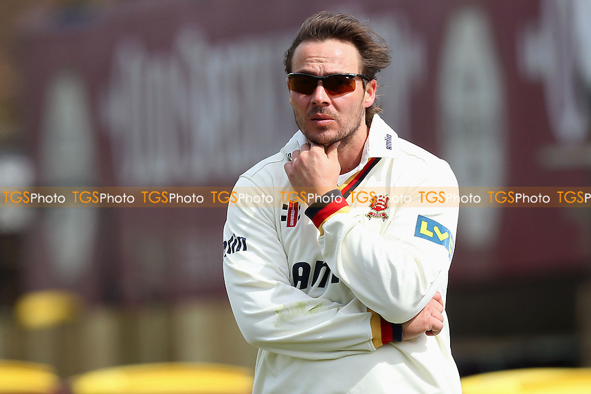 Graham Napier of Essex - Northamptonshire CCC vs Essex CCC - LV County Championship Division Two Cricket at the County Ground, Northampton - 18/04/13 - MANDATORY CREDIT: Gavin Ellis/TGSPHOTO - Self billing applies where appropriate - 0845 094 6026 - contact@tgsphoto.co.uk - NO UNPAID USE.