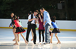 at Skating with the Stars (celebrities & Olympic skaters), a benefit gala for Figure Skating in Harlem on April 6, 2010 at Wollman Rink, Central Park, New York City, New York. (Photo by Sue Coflin/Max Photos)