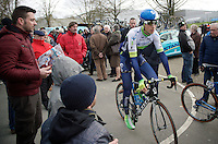 Jens Keukeleire (BEL/Orica-GreenEDGE) in the start zone<br /> <br /> 3 Days of De Panne 2015