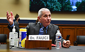 Dr. Anthony Fauci, director of the National Institute for Allergy and Infectious Diseases, testifies during a House Energy and Commerce Committee hearing on the Trump Administration's Response to the COVID-19 Pandemic, on Capitol Hill in Washington, DC on Tuesday, June 23, 2020. <br /> Credit: Kevin Dietsch / Pool via CNP