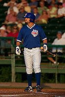 April 22 2010: Brett Jackson (13) of the Daytona Beach Cubs during a game vs. the Tampa Yankees at Jackie Robinson Ballpark in Daytona Beach, Florida. Daytona, the Florida State League High-A affiliate of the Chicago Cubs, won the game against Tampa, affiliate of the New York Yankees, by the score of 9-6.  Photo By Scott Jontes/Four Seam Images