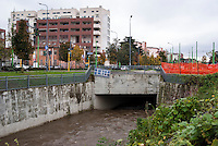 Milano, periferia nord. Il fiume Seveso inizia qui a scorrere coperto sotto la città --- Milan, north periphery. The river Seveso starts here to flow covered beneath the town