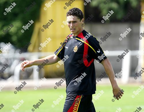2009-06-18 / Voetbal / Eerste training KV Mechelen / Jonas Ivens..Foto: Maarten Straetemans (SMB)