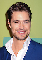NEW YORK CITY, NY, USA - MAY 15: Diogo Morgado at The CW Network's 2014 Upfront held at The London Hotel on May 15, 2014 in New York City, New York, United States. (Photo by Celebrity Monitor)