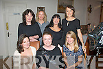 IT Tralee,North Campus staff celebrated with Derville Spring,St Brendan's Pk,Tralee(seated centre)on the occasion of her 40th birthday last Saturday night in Bella Bia,Tralee, also seated is Sheila O'Mahony(Lt) and Martha Farrell. Back l-r:  Ciara Buckley, Grainne Stack,Teresa Higgins-Walker and Maria Clifford.