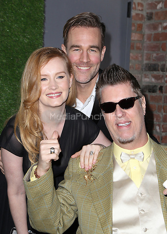 Hollywood, CA - February 22: James Van Der Beek, Kimberly Van Der Beek, Guest, At 14th Annual Global Green Pre Oscar Party, At TAO Hollywood In California on February 22, 2017. Credit: Faye Sadou/MediaPunch