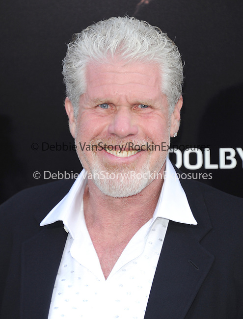 Ron Perlman at The Warner Bros. Pictures L.A. Premiere of Pacific Premiere held at The Dolby Theater in Hollywood, California on July 09,2013                                                                   Copyright 2013 Hollywood Press Agency
