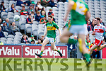 Michael Potts Kerry in action against  Derry in the All-Ireland Minor Footballl Final in Croke Park on Sunday.