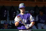 CHAPEL HILL, NC - FEBRUARY 27: High Point's Daniel Millwee. The University of North Carolina Tar heels hosted the High Point University Panthers on February 27, 2018, at Boshamer Stadium in Chapel Hill, NC in a Division I College Baseball game. UNC won the game 10-0.