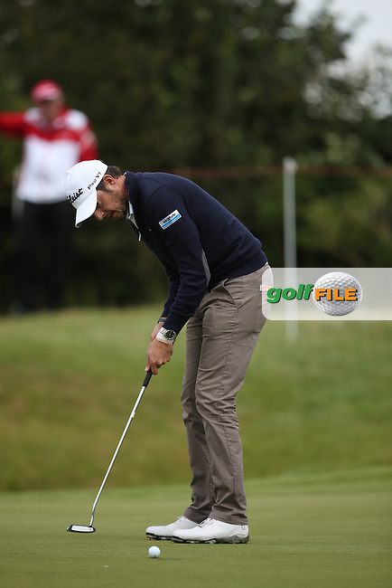 Simon Thornton (IRL) will play the weekend during Round Two of the Made in Denmark 2014 Pro-Am from the Himmerland Golf & Spa Resort, Aalborg, Denmark. Picture:  David Lloyd / www.golffile.ie