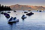 Personal watercraft in Lake Tahoe, Zephyr Cove, Nevada