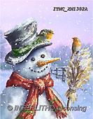 Marcello, CHRISTMAS SANTA, SNOWMAN, WEIHNACHTSMÄNNER, SCHNEEMÄNNER, PAPÁ NOEL, MUÑECOS DE NIEVE, paintings+++++,ITMCXM1382A,#X#