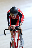 Laurence Pithie of Canterbury competes in the U17 Boys 2000m IP at the Age Group Track National Championships, Avantidrome, Home of Cycling, Cambridge, New Zealand, Thurssday, March 16, 2017. Mandatory Credit: © Dianne Manson/CyclingNZ  **NO ARCHIVING**