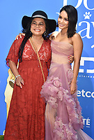 CENTURY CITY, CA - AUGUST 05:  Vanessa Hudgens (R) and Gina Guangco attend the premiere of LD Entertainment's 'Dog Days' at Westfield Century City on August 5, 2018 in Century City, California.<br /> CAP/ROT<br /> &copy;ROT/Capital Pictures