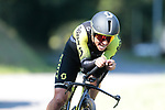 Jhoan Esteban Chaves (COL) Mitchelton-Scott in action during Stage 10 of La Vuelta 2019 an individual time trial running 36.2km from Jurancon to Pau, France. 3rd September 2019.<br /> Picture: Colin Flockton | Cyclefile<br /> <br /> All photos usage must carry mandatory copyright credit (© Cyclefile | Colin Flockton)