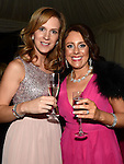 Kristina Bradvica and Bairbre Kelly who attended the 'Pink & Bling' in aid of breast cancer awareness at the Black Bull. Photo:Colin Bell/pressphotos.ie