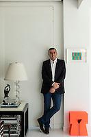 Portrait of designer Jafar Dajani