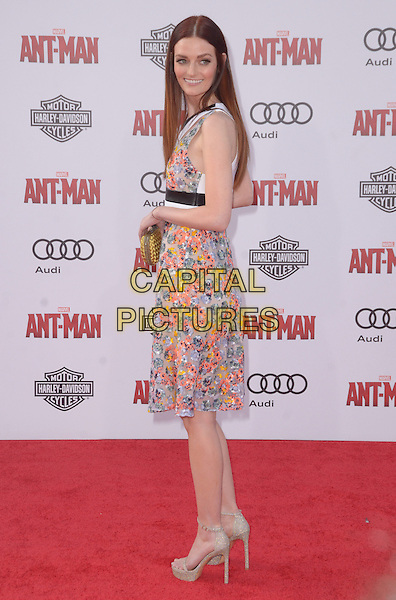 29 June 2015 - Hollywood, California - Lydia Hearst. Arrivals for the world premiere of Marvel's &quot;Ant-Man&quot; held at The Dolby Theater. <br /> CAP/ADM/BT<br /> &copy;BT/ADM/Capital Pictures
