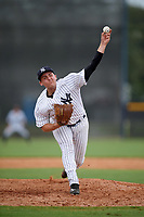 New York Yankees pitcher Dalton Lehnen (26) delivers a pitch during an Instructional League game against the Pittsburgh Pirates on September 29, 2017 at the Yankees Minor League Complex in Tampa, Florida.  (Mike Janes/Four Seam Images)