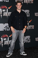 LOS ANGELES, CA, USA - APRIL 13: Adam DeVine in the press room at the 2014 MTV Movie Awards held at Nokia Theatre L.A. Live on April 13, 2014 in Los Angeles, California, United States. (Photo by Xavier Collin/Celebrity Monitor)