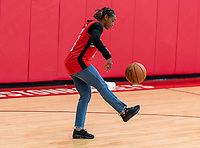 HOUSTON, TX - FEBRUARY 1: Crystal Dunn #19 of the United States juggles the ball at Houston Rockets Training Center on February 1, 2020 in Houston, Texas.