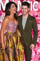 LOS ANGELES, CA. February 11, 2019: Priyanka Chopra &amp; Nick Jonas at the premiere of &quot;Isn't It Romantic&quot; at The Theatre at Ace Hotel.<br /> Picture: Paul Smith/Featureflash