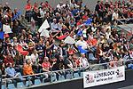 30.03.2019,  Lueneburg GER, VBL, Playoff-Viertelfinale, SVG Lueneburg vs United Volleys Frankfurt im Bild  Feature der Lueneburger Fanblock Foto © nordphoto / Witke