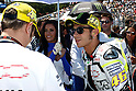 July 24, 2010 - Laguna Seca, USA - Fiat-Yamaha team's Italian rider, Valentino Rossi, is pictured on the grid prior the U.S. Grand Prix race held on July 25, 2010.