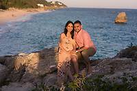 Sam and Aashka at Warwick Long Bay