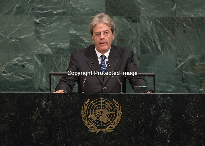 72 General Debate – 20 September <br /> <br />  His Excellency Paolo Gentiloni, President of the Council of Ministers of the Republic of Italy