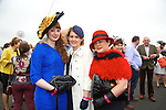 Enjoying Ladies Day at the Listowel Races on Friday were: Ashling McDaid, Annmarie Mitchell and Elizabeth McDaid from Tralee