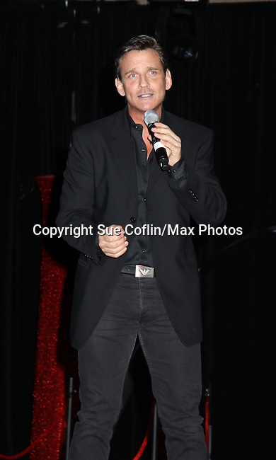 Guiding Light Sean McDermott sings and has a new cd out for sale at the Mr. Romance Competition at Romantic Times Booklovers Annual Convention 2011 - The Book Industry Event of the Year - April 9, 2011 at the Westin Bonaventure, Los Angeles, California for readers, authors, booksellers, publishers, editors, agents and tomorrow's novelists - the aspiring writers. (Photo by Sue Coflin/Max Photos)