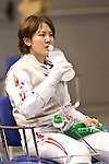 Haruka Yanaoka (JPN),<br /> AUGUST 5, 2013 - Fencing :<br /> World Fencing Championships Budapest 2013, Women's Individual Foil Qualifications at Syma Hall in Budapest, Hungary. (Photo by Enrico Calderoni/AFLO SPORT) [0391]