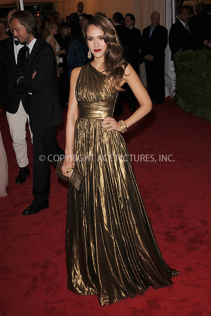 "WWW.ACEPIXS.COM . . . . . .May 7, 2012...New York City....Jessica Alba attending the ""Schiaparelli and Prada: Impossible Conversations"" Costume Institute Gala at The Metropolitan Museum of Art in New York City on May 7, 2012  in New York City ....Please byline: KRISTIN CALLAHAN - ACEPIXS.COM.. . . . . . ..Ace Pictures, Inc: ..tel: (212) 243 8787 or (646) 769 0430..e-mail: info@acepixs.com..web: http://www.acepixs.com ."