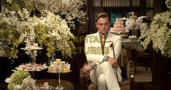 LEONARDO DiCAPRIO<br /> in The Great Gatsby (2013) <br /> *Filmstill - Editorial Use Only*<br /> CAP/FB<br /> Supplied by Capital Pictures