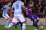 04.03.2017 Barcelona. La Liga game 26. Picture show Rakitic in action during game between FC Barcelona against Celta at Camop Nou