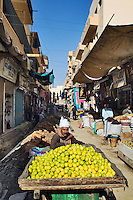 Street bazaar, Luxor, Egypt