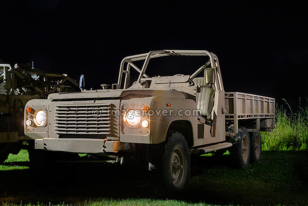 Australian Army Land Rover Perentie 6 x 6. Dunsfold Collection Open Day 2009. NO RELEASES AVAILABLE.