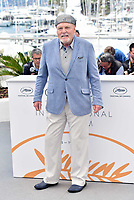 CANNES, FRANCE - MAY 15: Stacy Keach at photocall for 'Rendezvous With John Travolta - Gotti' during the 71st annual Cannes Film Festival at Palais des Festivals on May 15, 2018 in Cannes, France. <br /> CAP/PL<br /> &copy;Phil Loftus/Capital Pictures
