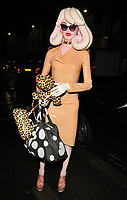Pandemonia at the LFW s/s 2018 Vin + Omi catwalk show &amp; afterparty, Andaz Liverpool Street Hotel, Liverpool Street, London, England, UK, on Monday 11 September 2017.<br /> CAP/CAN<br /> &copy;CAN/Capital Pictures