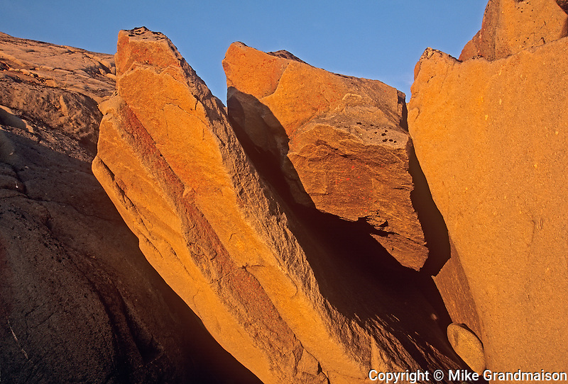 Rocks along the Hudson Bay Coastline<br /> Churchill<br /> Manitoba<br /> Canada