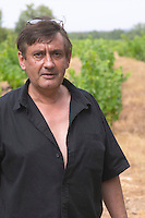 Pierre Escudie Domaine de Nidoleres. Roussillon. Owner winemaker. France. Europe. Vineyard.