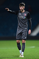 Lincoln City U18's Ellis Chapman<br /> <br /> Photographer Andrew Vaughan/CameraSport<br /> <br /> FA Youth Cup Round Three - West Bromwich Albion U18 v Lincoln City U18 - Tuesday 11th December 2018 - The Hawthorns - West Bromwich<br />  <br /> World Copyright &copy; 2018 CameraSport. All rights reserved. 43 Linden Ave. Countesthorpe. Leicester. England. LE8 5PG - Tel: +44 (0) 116 277 4147 - admin@camerasport.com - www.camerasport.com