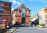 The Shire Hall, Market Hill, Woodbridge, Suffolk, England, UK built 1575 Thomas Seckford
